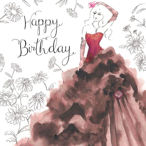 NES11 – Birthday Card For Woman